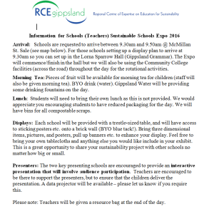 Teacher Info